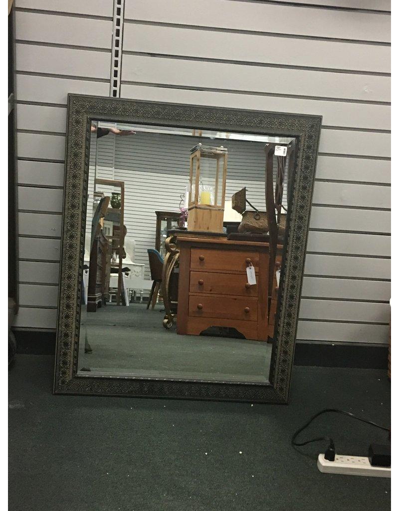Dark Framed Mirror