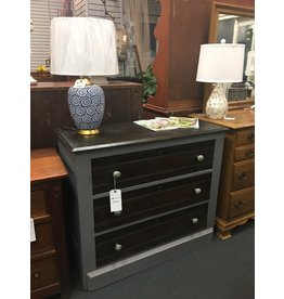 Two Tone Driftwood 3 Drawer Dresser