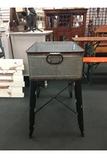 Galvanized Metal Cooler