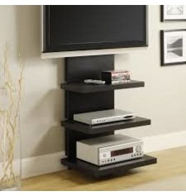 """Orren Ellis Black Emmi TV Stand for TVs up to 60"""""""