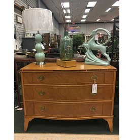 3 Drawer Bow Front Dresser