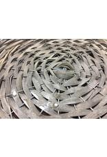 4/Set Gray Willow Round Baskets