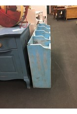 Blue Hanging Cubbyhole Shelf