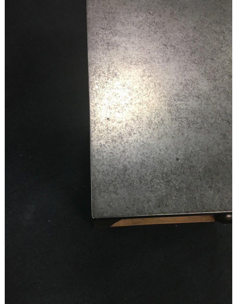 Metal Top End Table
