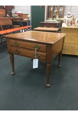 2 Drawer Square End Table