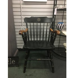 Hitchcock Style Armchair w/ Gold Trim
