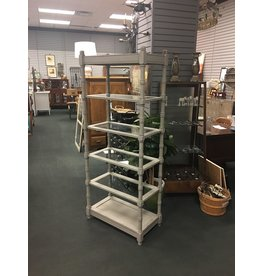 Empire Gray Painted Etagere