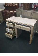Stanley Furniture Whitewashed 4 Drawer Desk