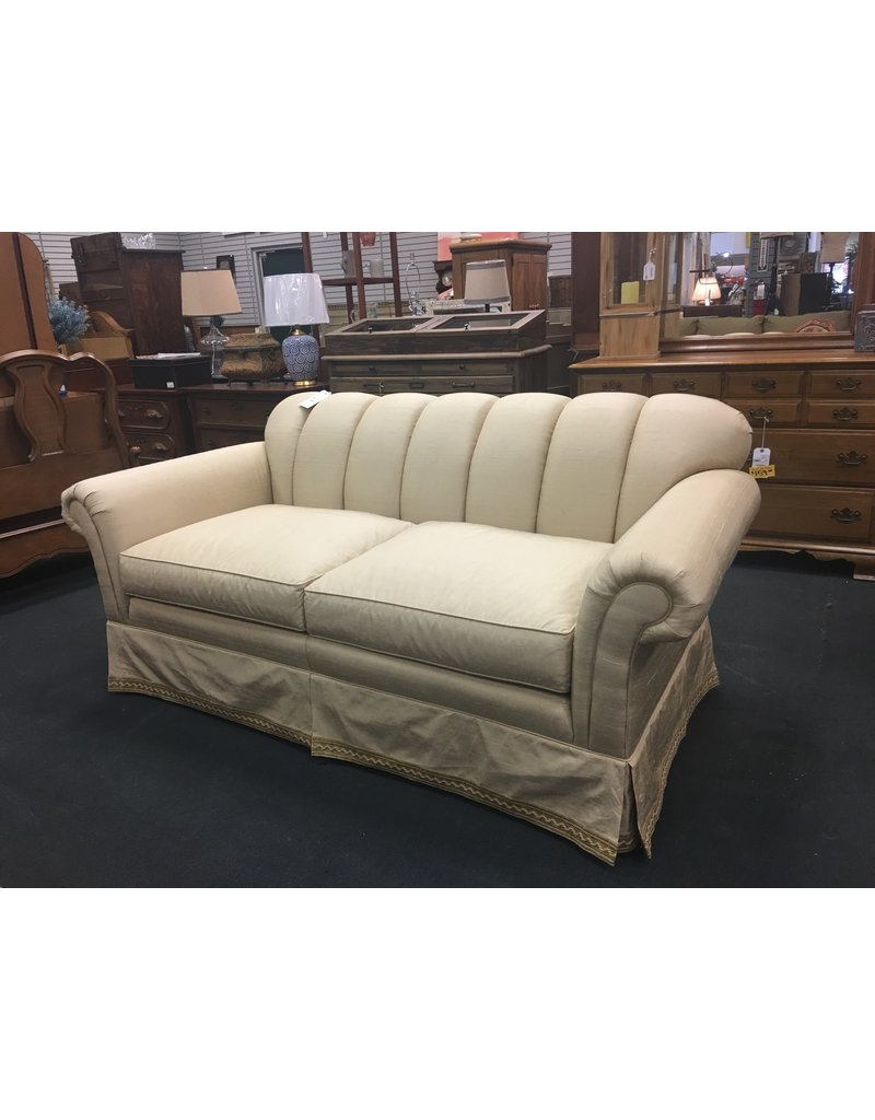 Hickory Chair Co. Ivory 2 Cushion Sofa by Hickory Chair