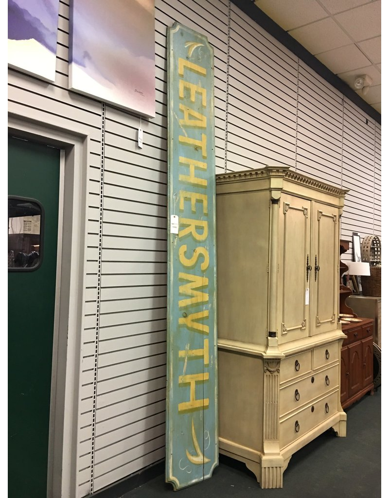 Vintage Leathersmyth Sign