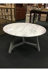 Modern Rustic Interiors Colford Faux Marble Coffee Table