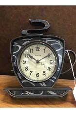 Ebern Designs Fresnel Coffee Mug Wall Clock