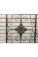 Fleur De Lis Living Arched Metal Wall Decor