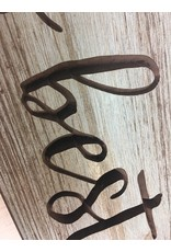 """Our Nest is Best Engraved Sign, 24"""""""