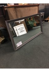Gray and Gold Wall Mirror
