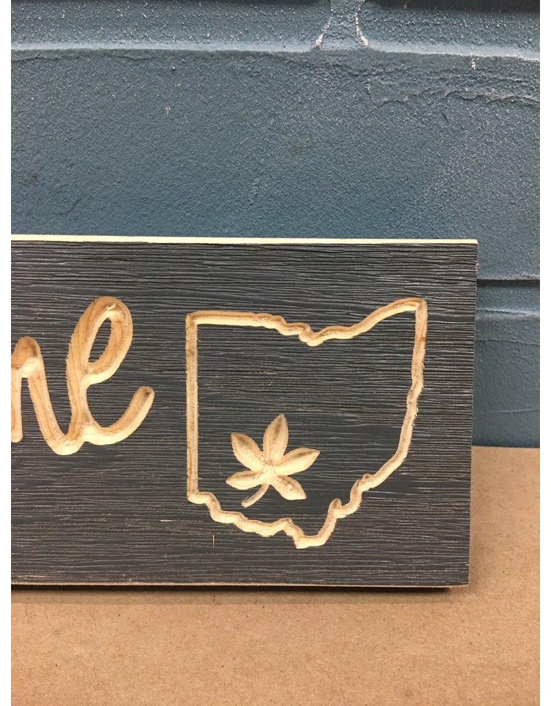 Org Engraved Ohio Sign