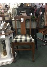 Vintage Quartersawn Oak Dining Side Chair