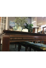 Rosewood Ming Style Extension Table w 6 Chairs & 2 Leafs
