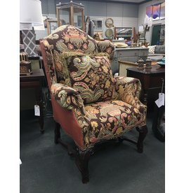 Hickory Chair Co. Wingback Armchair by Hickory Chair