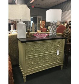 Tan/Brown 2 Drawer Dresser