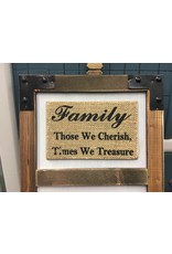 Family Picture Cork Board