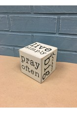 Live Simply Six-Sided Block