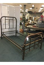 Antique Brass Bed - Twin