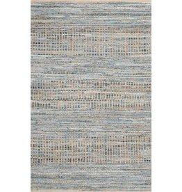 Trent Austin Design® Bernd Striped Handmade Flatweave Jute/Denim 3'x5' Area Rug