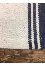 Grain Sack Navy Stripe Short Runner