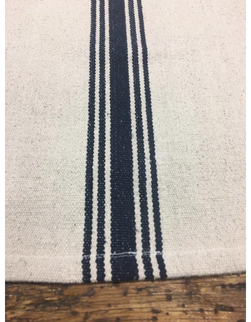 Grain Sack Navy Stripe Runner XL