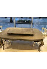 Gray Stained Extension Table