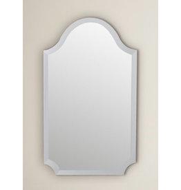 Willa Arlo Interiors Dariel Tall Arched Scalloped Wall Mirror