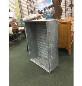 Large Galvanized Crate