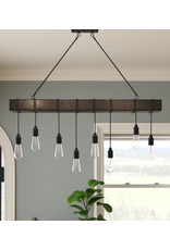 Laurel Foundry Modern Farmhouse Brodi 8-Light Kitchen Island Pendant