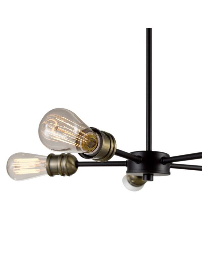 Williston Forge Dwight 5-Light Sputnik Sphere Chandelier