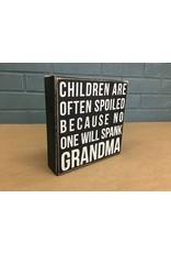 Grandma Box Sign