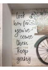 Keep Going Bicycle Wall Box