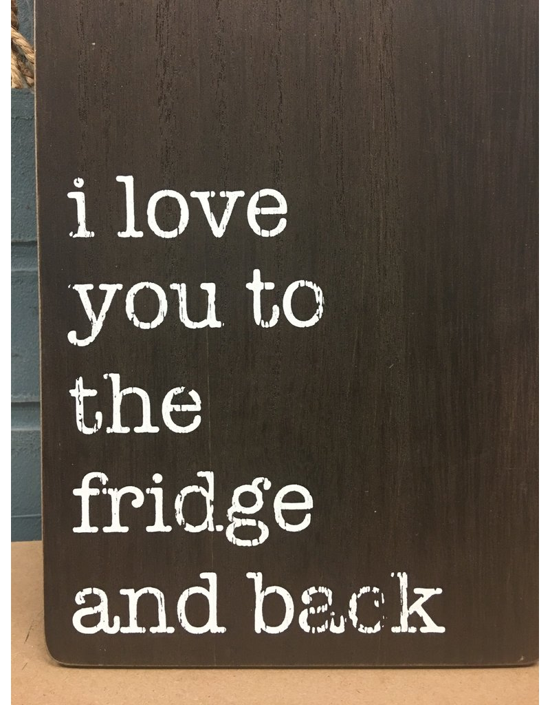 Fridge and Back Cutting Board Wall Hanger