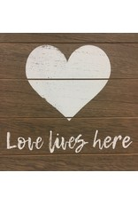 Love Framed Sign w/ Easel
