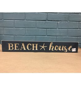 Beach House Engraved Sign 24""