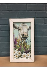 Field Day Print 9x18 White Frame