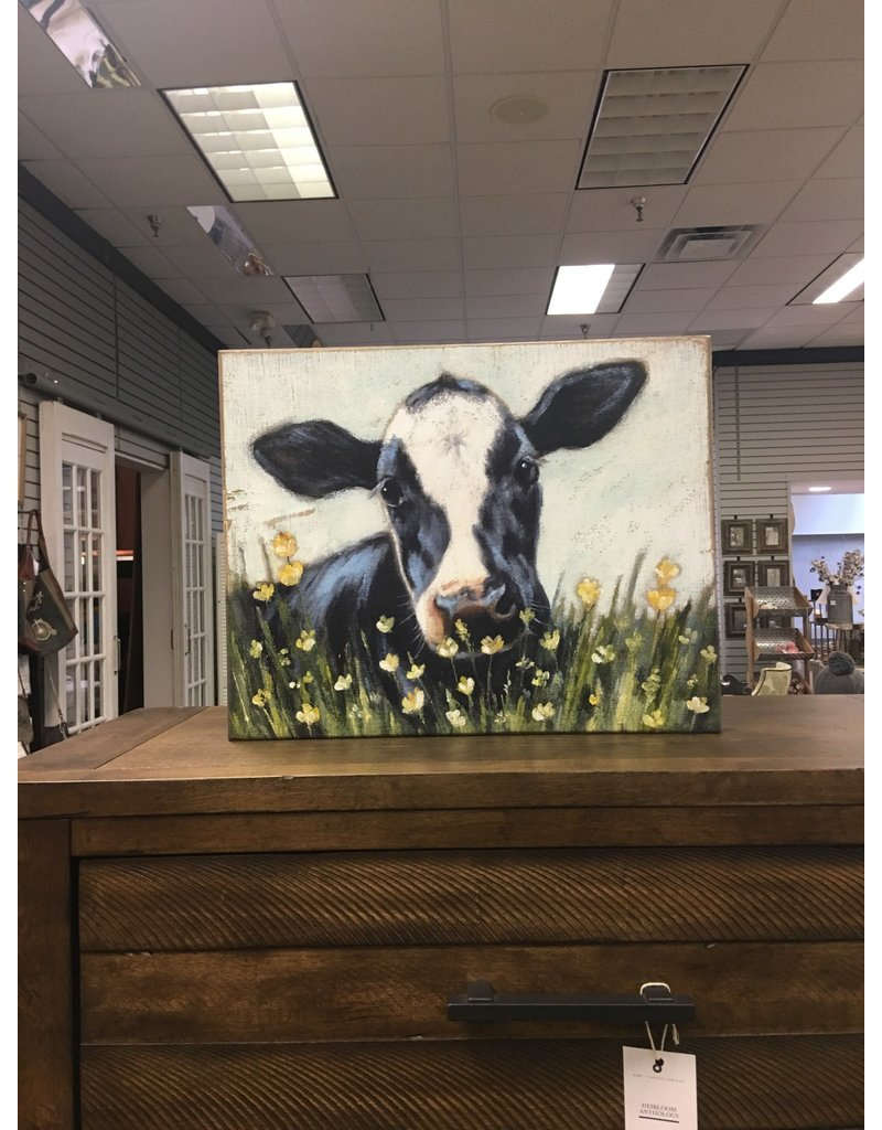 Cow Box Art