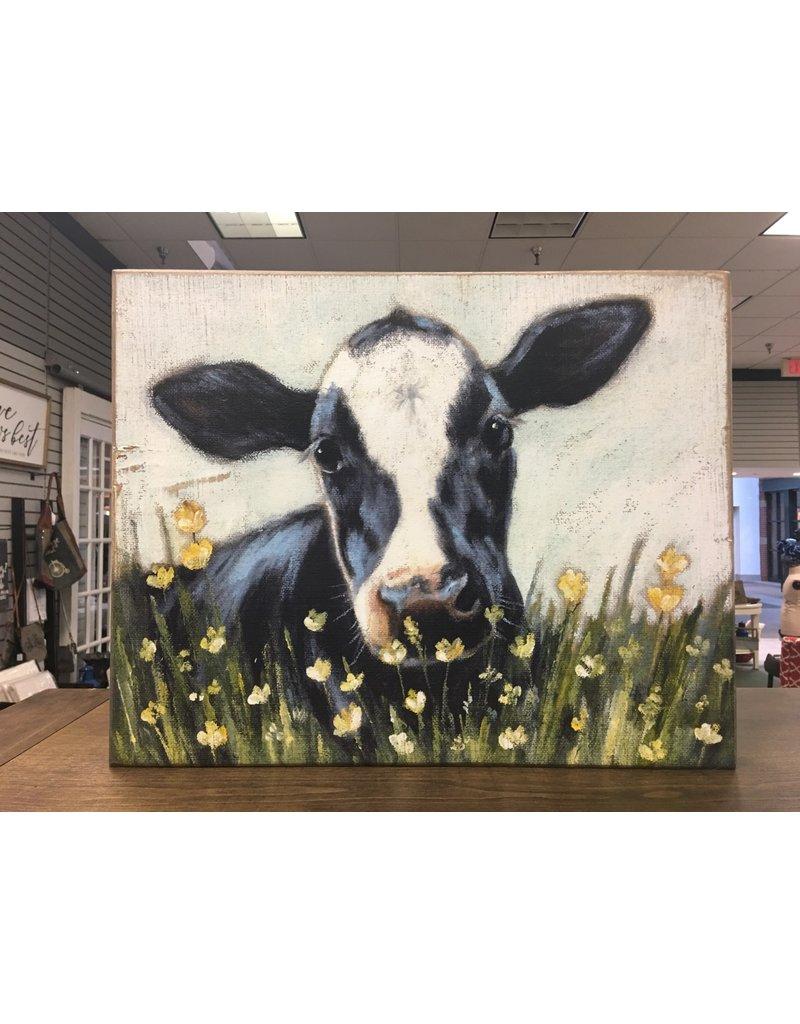 Cow Box Art