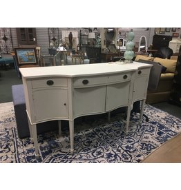 White Painted Federal Buffet