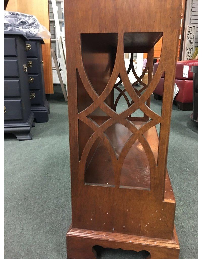 Mahogany Knickknack Shelf w Fretwork