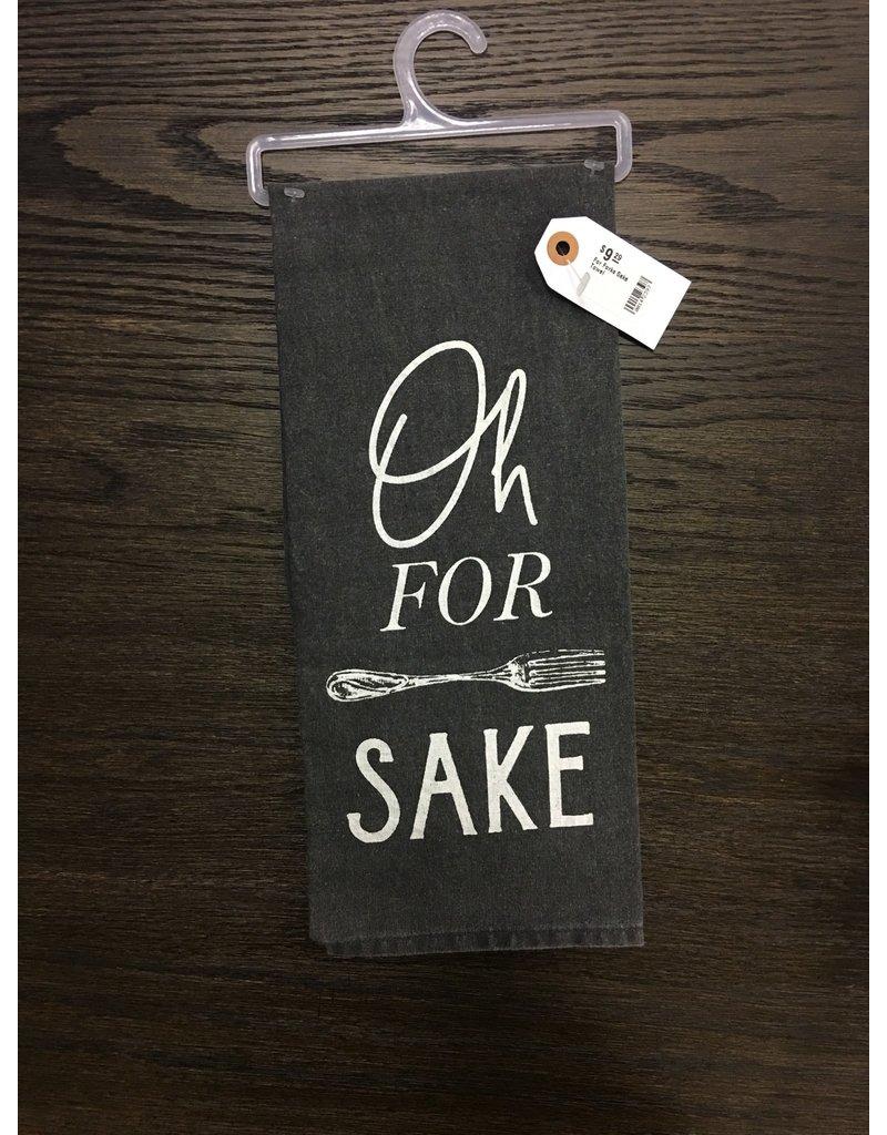 For Forks Sake Towel