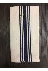 Grain Sack Navy Stripe Towel