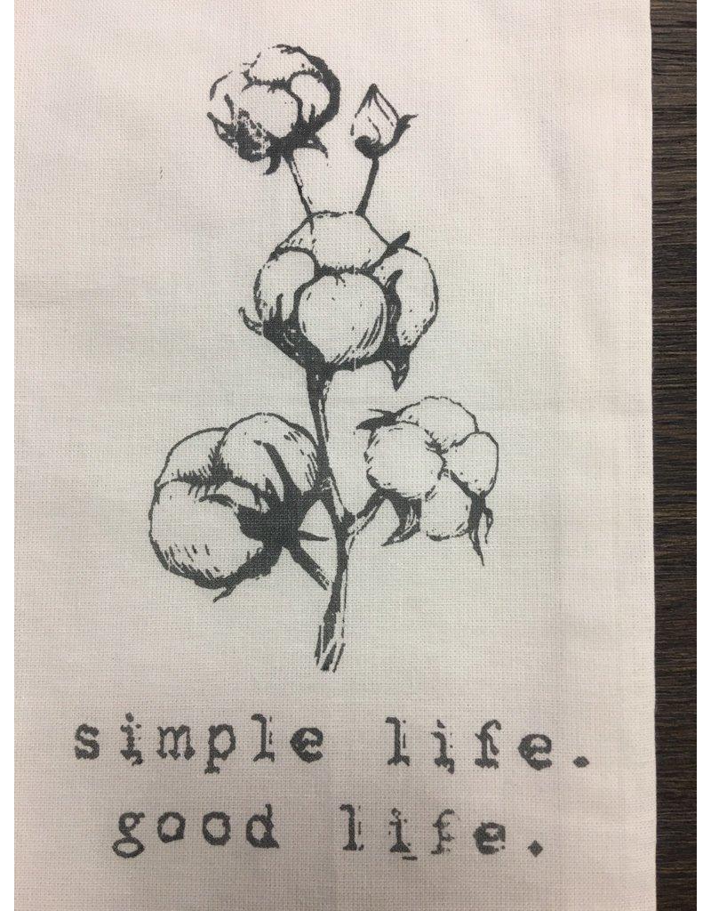 Simple Life Tea Towel