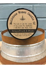 Malicious Women Candle Co. Well Behaved - Grapefruit & Mint Soy Candle