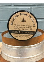 Malicious Women Candle Co. Bad Bitch - Lemon Drop Martini Soy Candle